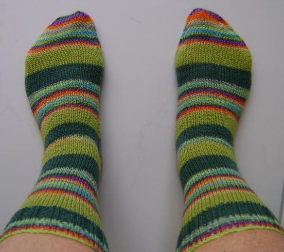 Easy Green Socks 1