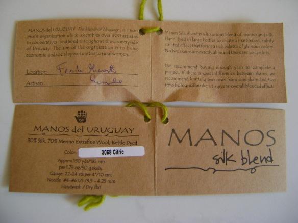 Manos del Uruguay Silk Blend 01