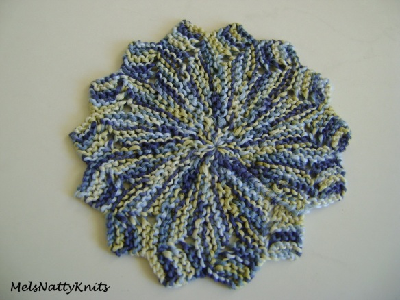 Almost Forgotten Washcloth Lincraft Bamboozle Blue 01