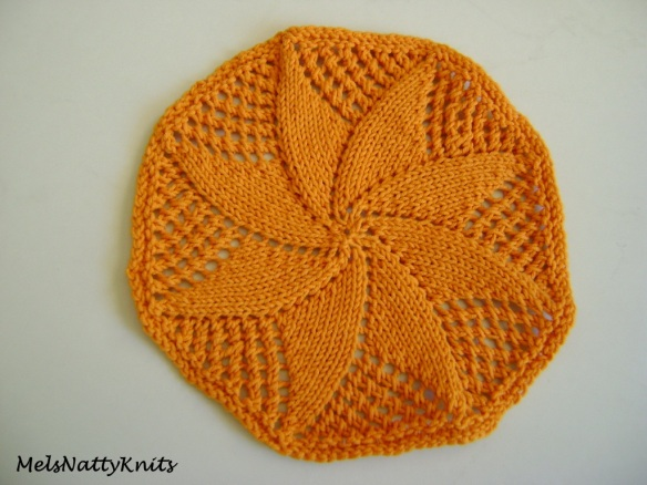 Country Charm Washcloth Coton-A Orange 01