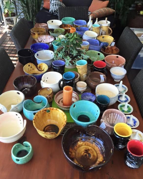 Yarn bowls Kimberly