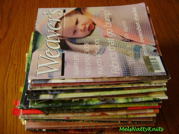 Weaving mags