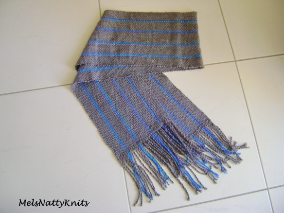 Grey Alpaca with Blue 05