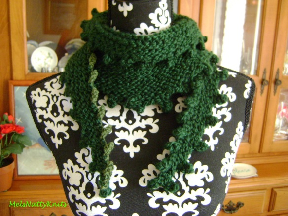 Melissa Scarf Forest Green 01